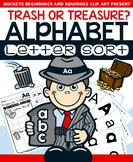 Alphabet Letter Sort  ~ No Prep