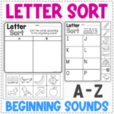 Alphabet Letter Sort Worksheets   Alphabet Review