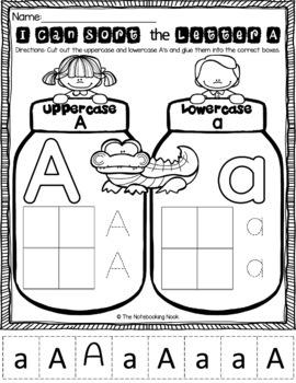 Alphabet Letter Sorting