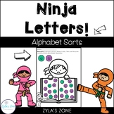 Alphabet Letter Sorting Activities