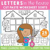 Letter Recognition Worksheet Sorts