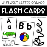 Alphabet Letter Sound Flash Cards Poster Preschool, PreK,