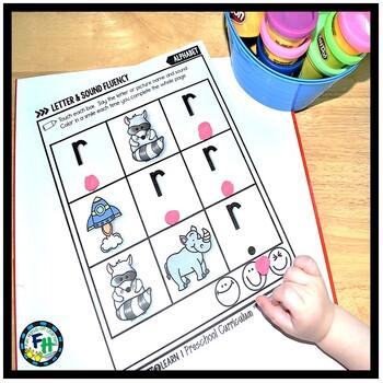Alphabet Letter & Sound Fluency Pack