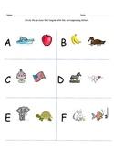 Alphabet Letter-Sound Match