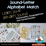 Alphabet Letter-Sound Match | [Task Cards] | Learning to Read