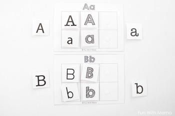 Alphabet Letter Sound Mats Beginning Letter Sounds
