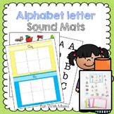 Alphabet Cards Sound Mats - Beginning Alphabet Sounds | Al