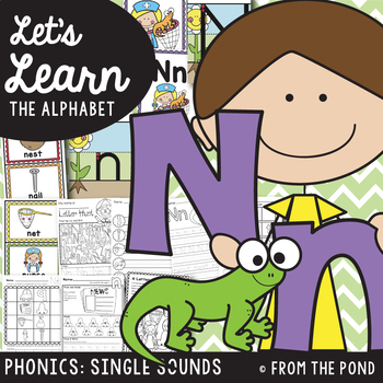 Alphabet - Letter Sound N {Sound of the Week Packet}