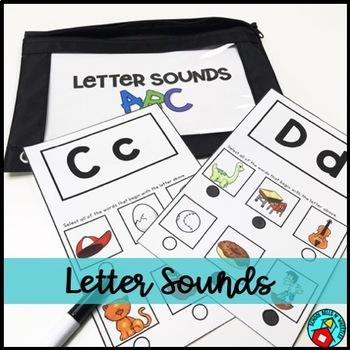 Alphabet Letter Sound Practice/Assessment