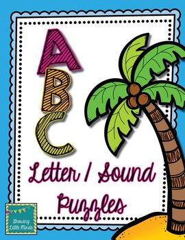 Alphabet Letter Sound Puzzles