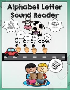 Alphabet Letter Sound Readers