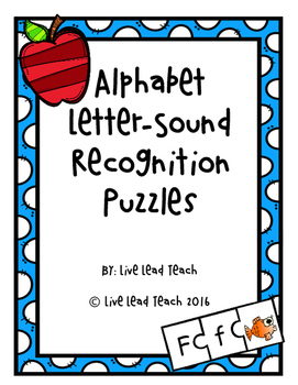 Alphabet Letter-Sound Recognition Puzzles