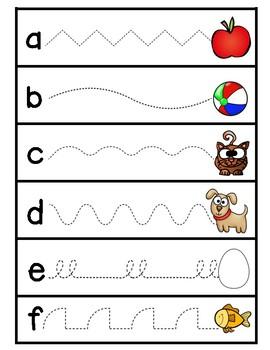 Alphabet Letter/Sound Tracers