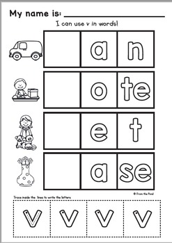 Alphabet {Phonics: Letter Sound V}