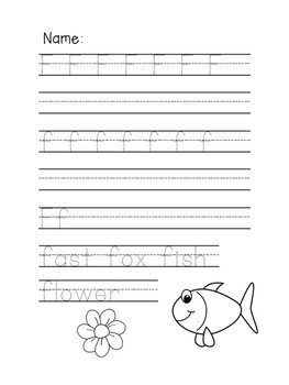 Alphabet Letter Sounds Bingo Dab Book and Alphabet Printing Book K to 1