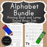 Alphabet Letter Sounds Bingo Dab Book and Alphabet Printin