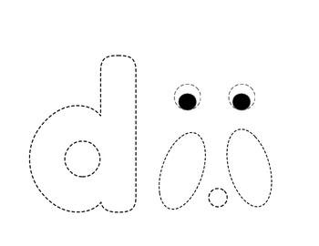 Alphabet Letter/Sounds Craft