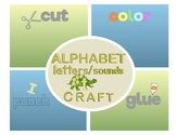 Alphabet Letter/Sounds Craft