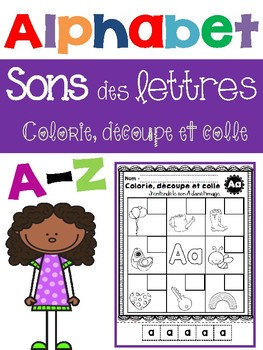 Alphabet-Letter Sounds/ J'entends le son des lettres