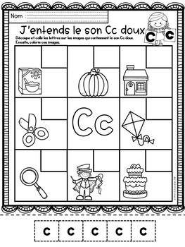 Alphabet-Letter Sounds/ J'entends le son des lettres