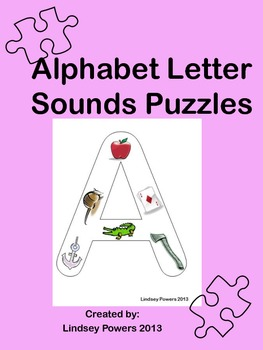 Alphabet Letter Sounds Puzzles