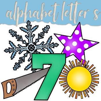 Alphabet Letter Ss Clip Art