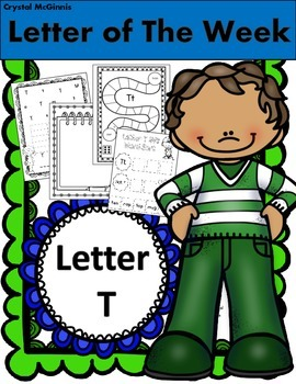 Alphabet Letter T! (13 Letter Recognition/Sound Activites) for the Letter T.