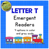 Alphabet Letter T Emergent Reader Set