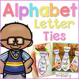 Alphabet Letter Ties