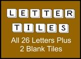 Alphabet Letter Tiles Clip Art