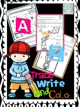 Alphabet Letter Trace and Write