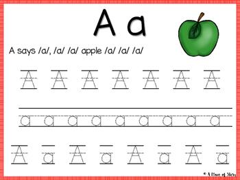 Alphabet Letter Tracers (Literacy Center)