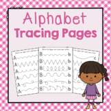 Alphabet Letter Tracing: Preschool Letters of the Week