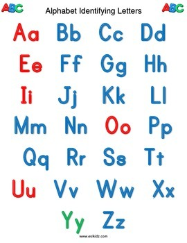 Alphabet Letter Tracing Sheet