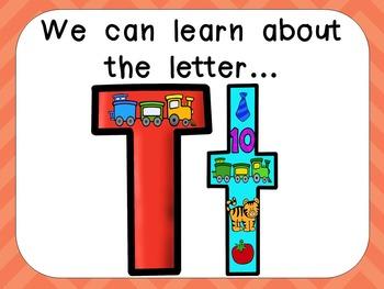 Alphabet Letter Tt PowerPoint Presentation- Letter ID, Sou