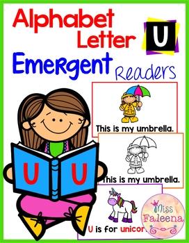 Alphabet Letter U Emergent Readers