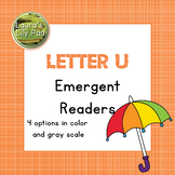 Alphabet Letter U Emergent Readers Set