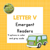 Alphabet Letter V Emergent Readers Set