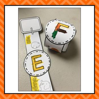 Alphabet Letter Watches