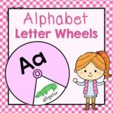 Alphabet Letter Wheels: Preschool Letters of the Week