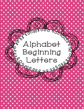 Alphabet Letter Words
