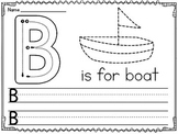 Alphabet Uppercase Letters Writing Practice Worksheets (Upper case)