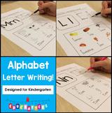 Alphabet Letter Writing Practice Set 1