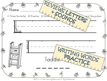 Child's Choice Writing Practice: ABC CONSTRUCTION - Advanced