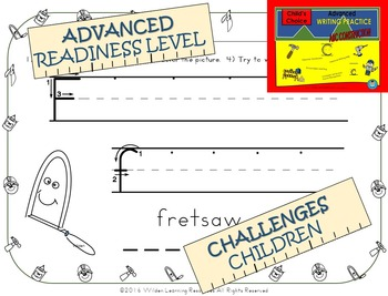 Child's Choice Writing Practice: ABC CONSTRUCTION - Advanced