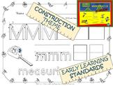 Child's Choice Writing Practice: ABC CONSTRUCTION - Intermediate