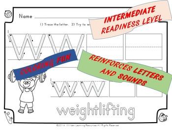 Child's Choice Writing Practice: ABC SPORTS - Intermediate