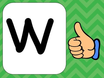 Alphabet Letter Ww PowerPoint Presentation- Letter ID, Sounds, and Handwriting