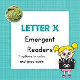 Alphabet Letter X Emergent Readers Set