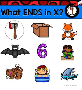 Alphabet -- Letter X SMARTboard Activities (Smart Board)